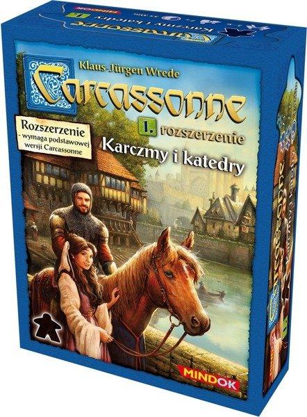 Carcassonne Karczmy i Katedry