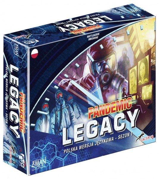 Pandemic Legacy sezon 1 (niebieska)