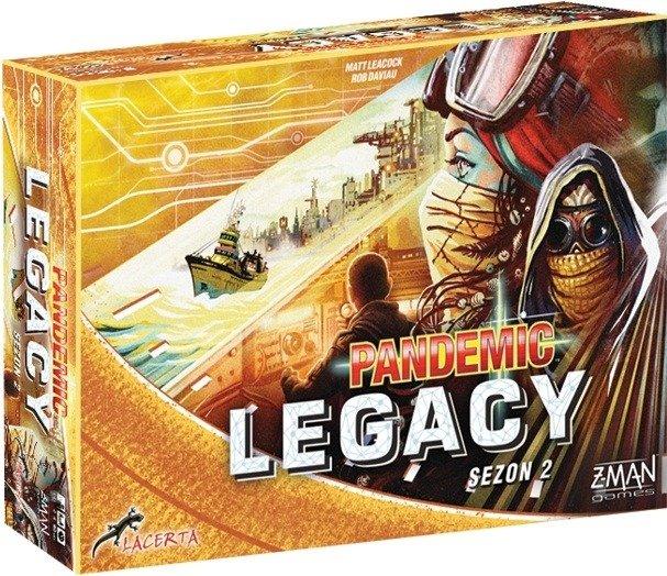 Pandemic Legacy sezon 2 (żółta)