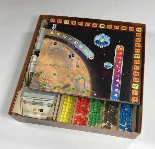 Insert do gry: Terraformacja Marsa