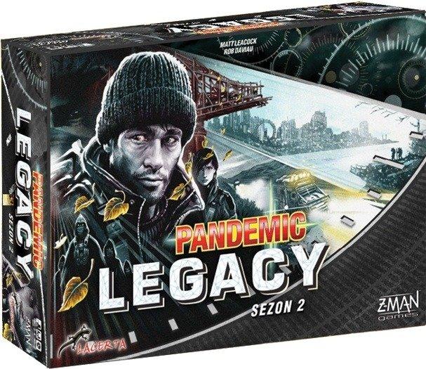 Pandemic Legacy sezon 2 (czarna)