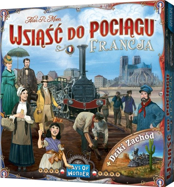 Wsiąść do pociągu: Francja i dziki zachód