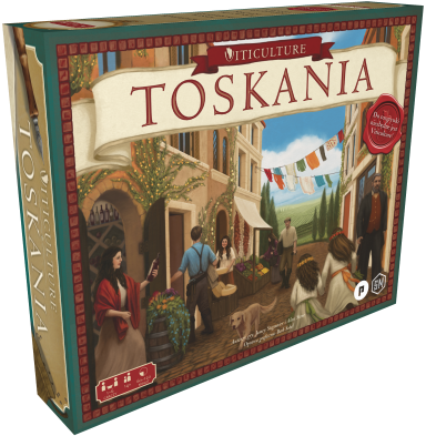Viticulture: Toskania - karty promocyjne