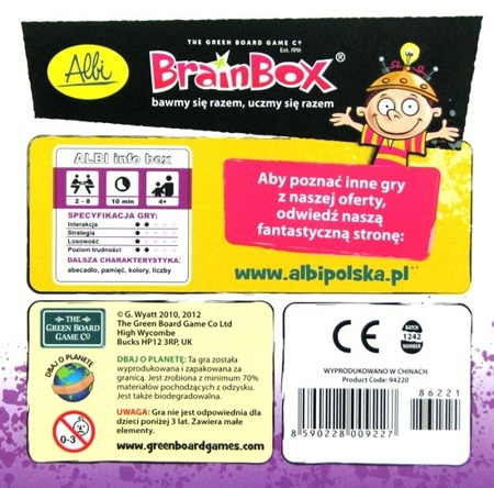 BrainBox Abecadło