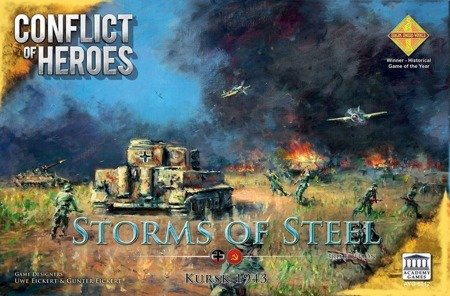 Conflict of Heroes: Storms of Steel! 3rd Edition